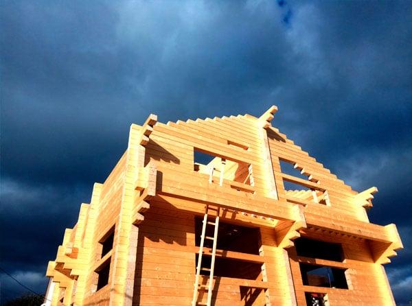Строительство дома спб из профилированного бруса | Ятоба.РФ