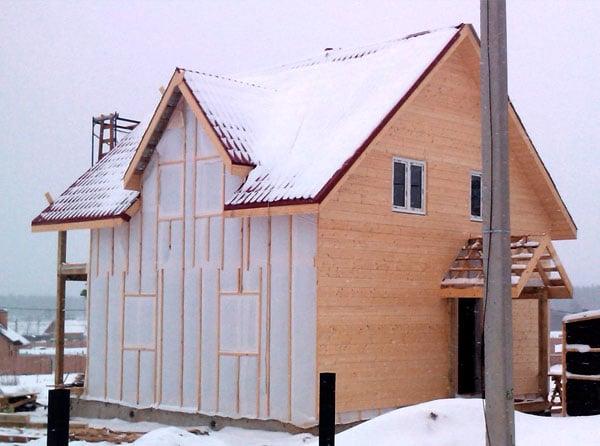Внешняя отделка каркасного дома Гатчина| Ятоба.РФ
